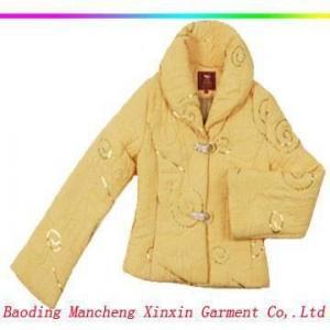 Quality Lady's fashion design coat for sale