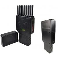 Buy cheap 16 Bands Portable Cell Phone Jammer WIFI GPS UHF VHF 315 433 Signal Jammer from wholesalers