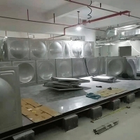 China 0.5*0.5M 10000M3 SUS304 Modular?Water?Tank?For Fire Fighting for sale