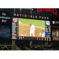China Pitch 16mm High Refresh Rate Outdoor LED Video Display for Sport Football on sale