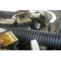 China PE Screw Single Wall Corrugated Plastic Pipe Extrusion Line high speed on sale