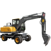 Quality High Quality Water Cool Diesel Engine Hydraulic Excavator With Trench Bucket Lonking For Personal Use for sale