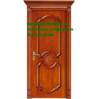 China high quality solid wood door iterior door with frame(China supplier) on sale