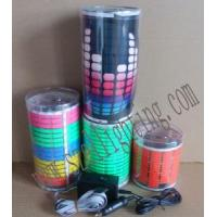 EL Car Sticker, Sound Active Car Sticker with Plastic Box Packing
