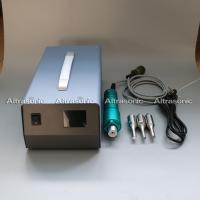China 28Khz Ultrasonic Portable Spot Welder With Digital Generator Titanium Horn on sale