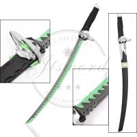"""Quality 28"""" Cosplay Prop Video Game Replica Swords Overwatch Genji Katana With Scabbard for sale"""