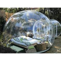 Best PVC Transparent Inflatable Bubble Tent 2 Tunnels For Camping 3 Years Warranty wholesale
