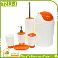 Buy cheap Low Price High Quality Accessory New Design Mix Color Accessories Bathroom Set from wholesalers