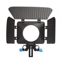 China Lightweight Plastic 15mm Rail Rod Matte Boxes For DSLR And Camera on sale