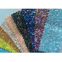 "Quality Fashion Chunky Glitter Fabric 3D Glitter Fabric For Hairbows 54/55"" Width for sale"