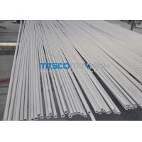 China ASTM A249 TP304 / S30400 ERW Straight welded steel pipe For Heat Exchanger on sale
