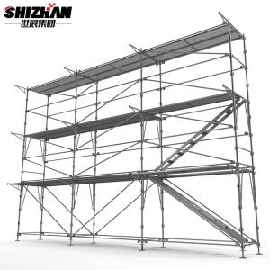 Quality Cold Galvanization Ringlock lightweight aluminium stage lighting scaffold tower for sale