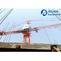 China Small Internal Climbing Tower Crane Inner Building 80 m With Horizontal Jib on sale
