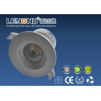 Quality Cree COB LED Downlight 15w With Anti Glare Lens Aluminium Alloy White Housing for sale
