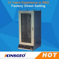 China Automatic Electric Fabric Testing Equipment Veritical With Power Ac220V,50Hz on sale