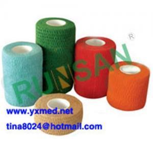 China Cotton Cohesive Elastic Bandage(FDA,CE) on sale