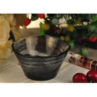 China wedding table decorations colored glass tealight candle holder bowl on sale