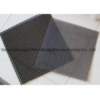 China Double Crimped Vibrating Screen Cloth , Lock Crimp Wire Mesh High Abrasion Resistance on sale