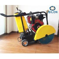 Quality Compact Road Cutting Machine 15-25HP Gasoline / Diesel Mobile Concrete Saw Cutting for sale