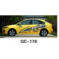 Quality Waterproof Respect PVC Custom Car Body Sticker QC-178I for sale