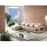 Best modern home sectional leather sofa furniture wholesale