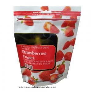 Buy cheap MOQ200pcs Sliding Plastic Custom Packaging Bags Airtight Hermetic Seal Magic from wholesalers