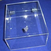 Buy cheap Acrylic Box with Lid, Customized Designs are Accepted from wholesalers
