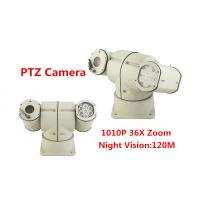 Quality 360 Degree Vehicle Mounted PTZ Camera PTZ Video Camera IP66 10kg With IR Lights for sale