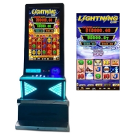 """Quality 32""""  Dual Screen Firelink Pinball Game Machine With ICT Bill Accpetor for sale"""
