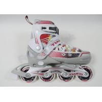 China 4 PU Wheels Custom Inline Skating Shoes Lightweight and Easy Control for Kids on sale