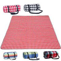 Quality Mini Size Plaid Lightweight Picnic Blanket For Camping / Travelling for sale