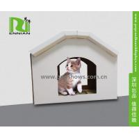 Best Cuddly Stable Corrugated Cardboard Furniture Cat House Indoor Textured Surface Grinding Claws wholesale