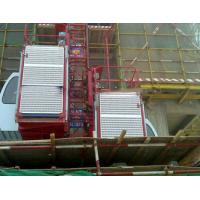 Best 0-33m/min construction elevator / building lift  with rack and mast section wholesale