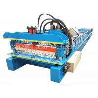Buy cheap Galvanized Corrugated Roofing Sheet Roll Forming Machine 380v 3kw Power from wholesalers