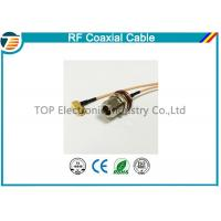 Quality N Type 50 OHMS Different RF Coaxial Cable RG136 , RG174 , RG178 for sale