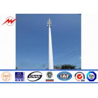 Best Communication Distribution Mono Pole Tower Customized Tapered 90 FT - 100 FT wholesale