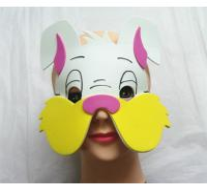 Best Halloween Christmas Children Cartoon EVA Forest Animal Rabbit Mask wholesale