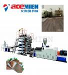 Quality High Output Plastic Floor Tile Machine , Floor Tiles Making Machine Click Vinyl for sale