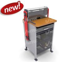 Quality Durable Tabletop Heavy Duty Punching Machine With With Wire Closing System for sale