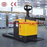 China 2.0Ton Electric Powered Pallet Truck With 600mm Load Center CBD20-100 / CBD20-150 on sale