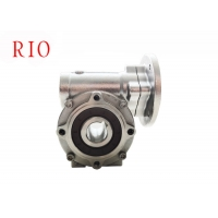 China stainless steel worm gear reducer speed ratio 10 underwater work anti-corrosion and anti-rust on sale