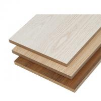 China Natural Wood Color Melamine Faced MDF Board Polished Surface FSC Compliant on sale