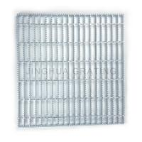 Quality Serrated Bar Metal Drain 100mm Drainage Steel Grating for sale