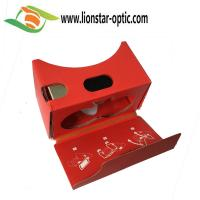 Quality 3d virtual reality google cardboard vr toolkit for smartphone VR content for sale