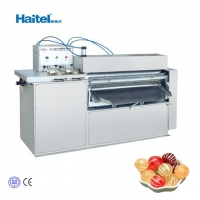 Quality Small Sweet Hard Round Ball Candy Roll Cutting Machine 1000kg/8H for sale