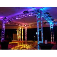 Quality 250*250 MM Screw  Trade  Aluminum Square Truss For Exhibition Booth for sale