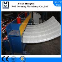 China Colored Steel Roofing Sheet Crimping Machine For Curving 120 Degree Bend Angle on sale