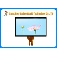 Quality 10 Pins Capacitive Touch Panel 42 Inch 80% Transparency With Glass Structure for sale