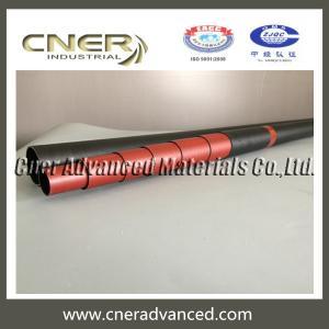 China Carbon fiber telescopic pole of 45 feet extension length for camera mast pole, carbon fibre mast on sale