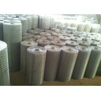 China Hot Dipped Galvanized Welded Wire Mesh 4 * 4 Wire Welded Mesh Dutch Weave on sale